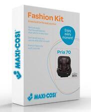 Maxi-Cosi Pria 70 Car Seat Replacement Pad & Fabric Set Black Gravel New!