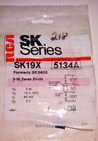 NOS RCA SK19X 5 Watt Zener Diode 5134A