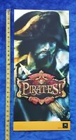 Sid Meier's Pirates! Video Game Store Display Poster 2005 Original XBox