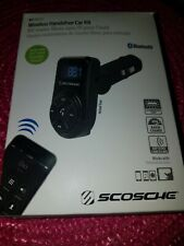 Black Scosche tuneFREQ Charger Retail Packaging Digital FM Transmitter for iPod and MP3