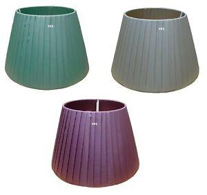 16 INCH SATIN PLEATED FLOOR & TABLE LAMPSAHDE