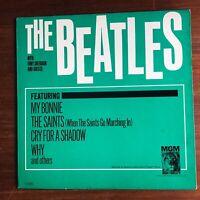 THE BEATLES w/ TONY SHERIDAN 1964 MONO ORIG! RARE - MGM 4215 - Vinyl is EX