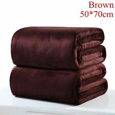 Super Soft Solid Warm Micro Throw Blanket Rug Plush Fleece Bed Quilt Sofa Home Coffee