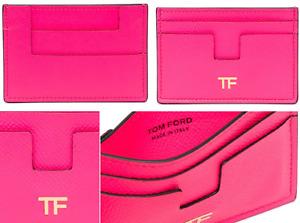 Tom Ford Tf Card Case Money Bag Briefcase Purse Holder Pocket Wallet