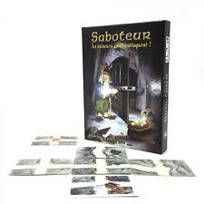 Saboteur 1+2 Card Game With English Instruction Jogos De Tabuleiro Dwarf Miner