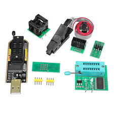 DI- FT- 4Pcs/Set CH341A 24 25 EEPROM BIOS USB Programmer Burner Chip Clips SOIC8