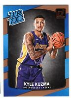2017-18 Donruss Basketball Kyle Kuzma Rated Rookie RC #174 Los Angeles Lakers