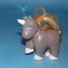 Vintage G1 Remco My Little Pony Fakie Ponies Baby Unicorn Brown, White Feet