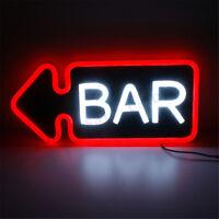 PVC BAR Neon Sign LED Tube Handmade Visual Artwork Bar Club Wall Decor Light