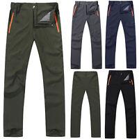Men's Hiking Pants Outdoor Climbing Walking Trekking Casual Quick Dry Trousers