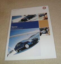 Vauxhall Vectra C Brochure 2004 SXI Elite SRI GSI 1.8 2.2 16v 2.0 DTI 3.2 V6 24v