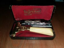 Antique Schick Injector Safety Razor Plastic Handle Type G 1946 - Transitional