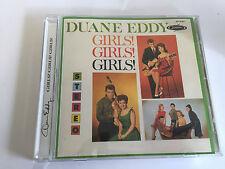 Duane Eddy Girls Girls Girls CD  MINT - 647780404026