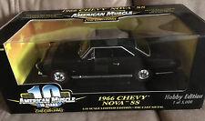 RARE Hobby NOS ERTL 1966 Chevy NOVA SS  '66 327 350 HP Super Sport BLACK Beauty