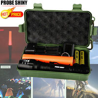 8000LM Super Bright XM-L T6 LED Zoomable Focus Rechargeable Flashlight Torch US