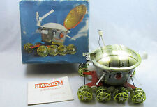 SOVIETICA VINTAGE SPACE TOY A BATTERIA lunokhod clapping CONTROL ANNI'70