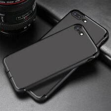 Shockproof Ultra Thin Slim Soft Silicone Back Cover For iPhone X 8 6 7 Plus Case