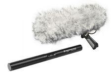 Sennheiser MKE 600 Short Shotgun Microphone W/ Rode Blimp Kit