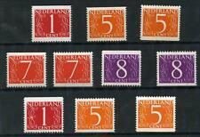 Nederland 460G-465dH Van Krimpen uit postzegelboekjes Postfris MNH