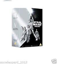 STAR WARS ORIGINAL TRILOGY BOX SET DVD VERY RARE Episode 4 5 6 IV V VI Sealed UK