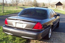 FOR FORD CROWN VICTORIA SIMULATED CARBON FIBER Style Rear Spoiler Wing 1998-2008