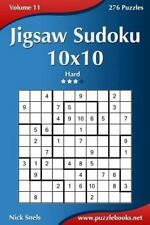 Jigsaw Sudoku 10x10 - Hard - Volume 11 - 276 Puzzles: By Snels, Nick