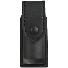 Safariland 38-4-2PBL OC Spray Holder Standard Top Flap Plain Black