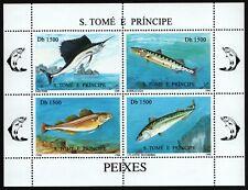São Tomé & Príncipe 1996 - Mi-Nr. 1723-1726 ** - MNH - Fische / Fish