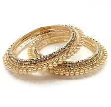 Stone Bangles Size:2.10 Indian Bollywood Traditional Bridal Party Wear Jewellery