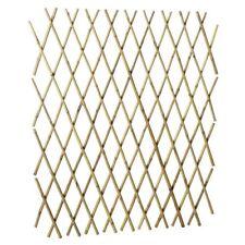 Bamboo Trellis 1800mm X2.0m Wall Expandable Fence Climbing Plants Natural Screen