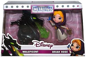 MALEFICA e AURORA 10m METALLO JADA Maleficent Briar Rose Metalfigs D3 DieCast