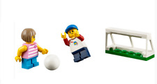 Lego ® City Minifig Figurine Enfant Garçon Fille & But Ballon Foot Football NEW