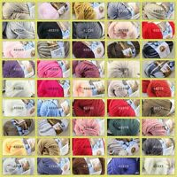 Sale New 1 ball x 50g Soft Worsted Cotton Chunky Bulky Hand Knitting Quick Yarn