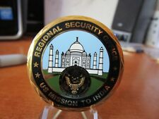 DOS Diplomatic Security Service Regional Office Mission  India Challenge Coin