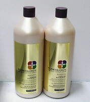 Pureology Fullfyl Shampoo & Conditioner Liter Duo Set 33.8 oz ea Density Texture