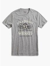LUCKY BRAND Men's Graphic Jack Daniels Corn Whiskey Short Sleeve T Shirt Med NWT