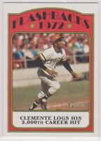 2021 Topps Heritage Baseball ROBERTO CLEMENTE Flashbacks Card PITTSBURGH PIRATES