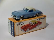 NOREV MERCEDES BENZ 190 SL Year 1956 Gray Blue - Light Grey 1 43 Item Cl3511