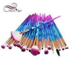 20Pcsx Diamond Makeup Brushes Set Powder Foundation Blush Blending Eye shadow