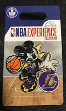 Disney Pin Mickey Mouse NBA Experience Los Angeles Lakers NEW