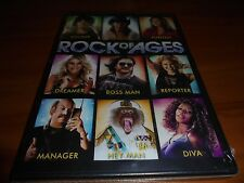Rock of Ages (DVD, Widescreen 2012) Tom Cruise NEW Russell Brand, Julianne Hough