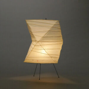 "AKARI w/ ISAMU NOGUCHI Light Lamp Shade Washi ""Stand Light 26N FULL SET"" -BTO-"