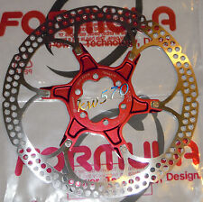 "Formula - One disk rotor 180mm/7"" model 2-piece RED spider 6 holes - FD54019-00"