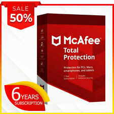 Mcafee total Protection 1 device 6 years