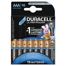 Duracell Ultra Power Mx2400 Batterie 16 X Aaa-typ alkalisch 113718 D