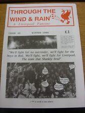 1994 Fanzine: Liverpool - Through The Wind & Rain, Issue No.20 [Winter 1994]. Th