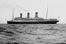 726011 Steam Ship Majestic 1929 White Star Line A4 Photo Print
