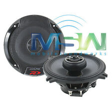 "*NEW* ALPINE® SPR-50 5-1/4"" 2-WAY TYPE-R COAXIAL CAR SPEAKERS 5.25"" PAIR SPR50"