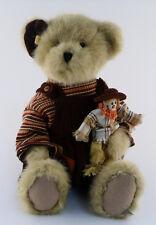 Boyds Bear Plush Halloween  CHARLLOTE Q. AUTUMNTYME & LIL SCARDY #904670  NWT!!!