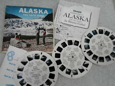Viewmaster Reel x 3 Alaska 49th State USA Set A101 Vintage 1950s Sawyers